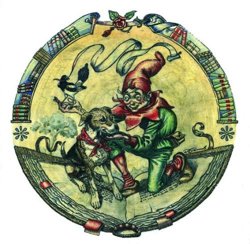 """Logo """"Féeric, les Lieux magiques"""" (c) Tudor BANUS"""