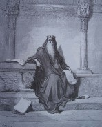 gravure dore bible - salomon